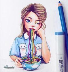 عکس پروفایل فانتزی کارتونی دخترونه