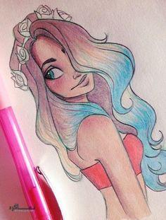 عکس پروفایل فانتزی دخترونه قشنگ