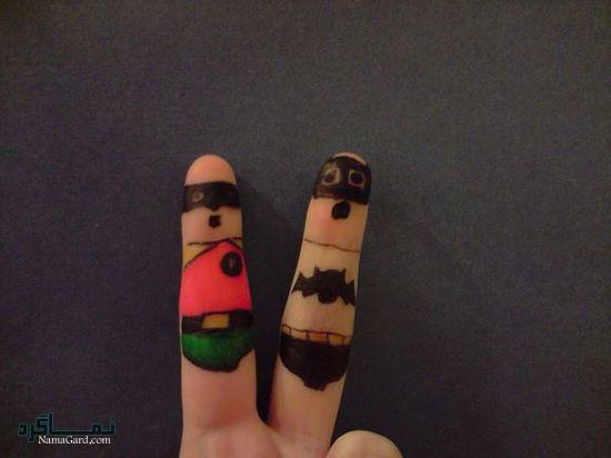 عکس پروفایل بامزه انگشت جدید