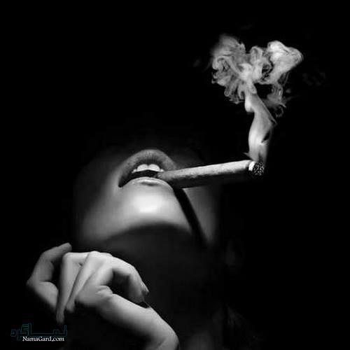 عکس پروفایل سیگار جدی