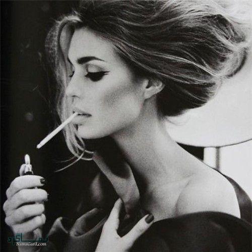 عکس پروفایل سیگار شیک