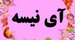 معنی اسم آی نیسه – نام آی نیسه – زیباترین اسم های دخترانه ترکی