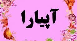 معنی اسم آیپارا – نام آیپارا – زیباترین اسم های دخترانه ترکی