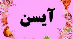 معنی اسم آیسن – نام آی سن – زیباترین اسم های دخترانه ترکی