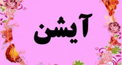 معنی اسم آیشن – نام آی شن – اسم های دخترانه ترکی با معنی
