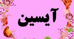 معنی اسم آیسین – نام آی سین – زیباترین اسم های دخترانه ترکی