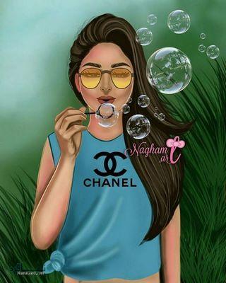 عکس پروفایل کارتونی دخترونه