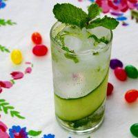 طرز تهیه نوشیدنی موهیتو خیار خوشمزه به ۲ روش و خواص آن