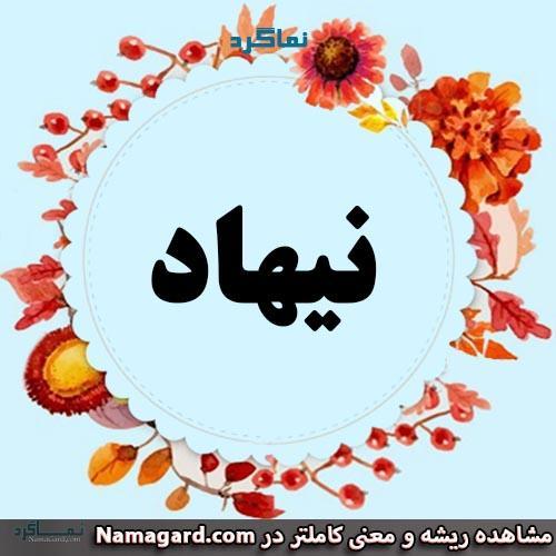 معنی اسم نیهاد