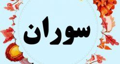 معنی اسم سوران – نام سوران – اسمهای کردی پسرانه