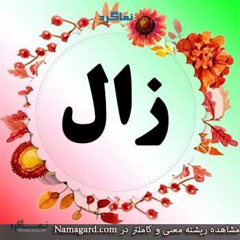 معنی اسم زال - نام زال - اسمهای کردی پسرانه