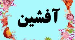 معنی اسم آفشین – معنی افشین – نام پسرانه ترکی