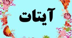 معنی اسم آیتات – معنی آیتات – نام پسرانه ترکی