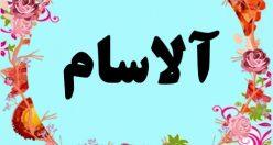 معنی اسم آلاسام – معنی آلاسام – نام پسرانه ترکی