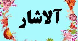 معنی اسم آلاشار – معنی آلاشار – نام پسرانه ترکی