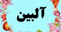 معنی اسم آلبین – معنی آلبین – نام پسرانه ترکی