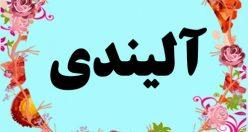 معنی اسم آلیندی – معنی آلیندی – نام پسرانه ترکی
