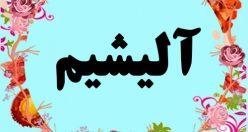 معنی اسم آلیشیم – معنی آلیشیم – نام پسرانه ترکی
