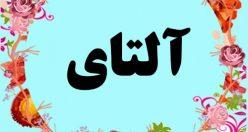 معنی اسم آلتای – معنی آلتای  – نام پسرانه ترکی