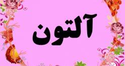 معنی اسم آلتون – نام آلتون – زیباترین اسم های دخترانه ترکی