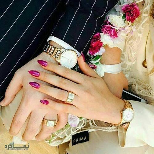 عکس پروفایل عاشقانه دست جدید
