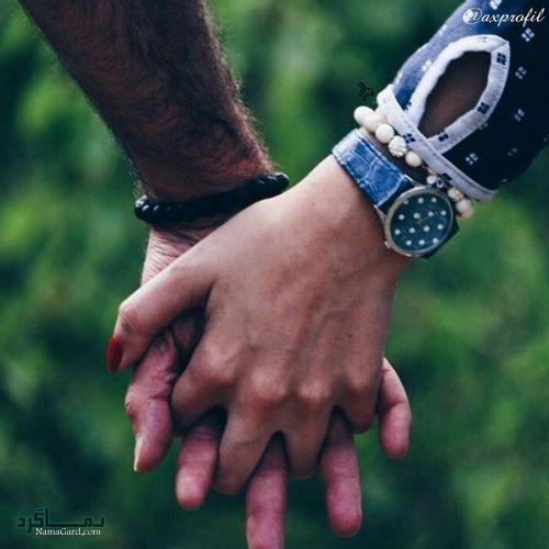 عکس پروفایل عاشقانه دست احساسی
