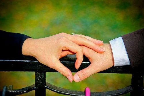 عکس پروفایل عاشقانه دست زیبا