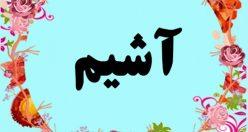 معنی اسم آشیم – معنی آشیم – نام پسرانه ترکی