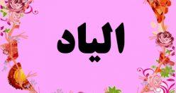 معنی اسم الیاد – نام الیاد – زیباترین نام های دخترانه ترکی