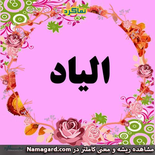 معنی اسم الیاد - نام الیاد - زیباترین نام های دخترانه ترکی