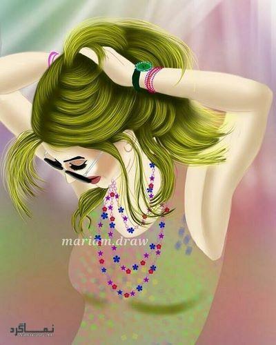 عکس پروفایل فانتزی دخترونه زیبا
