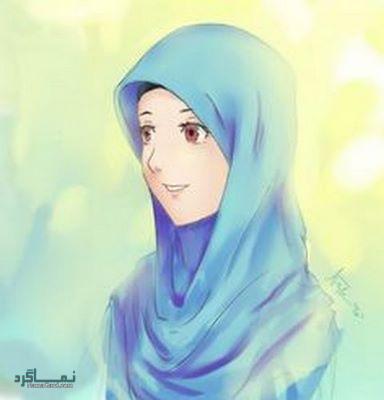 عکس پروفایل دخترونه با حجاب