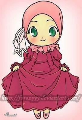 عکس پروفایل دخترونه حجابی