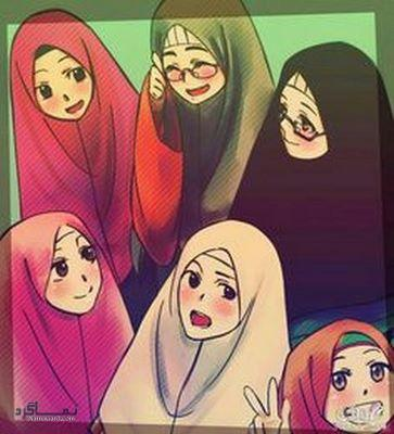 عکس  دخترونه حجابی خاص