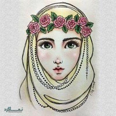 عکس دختر چادری شیک