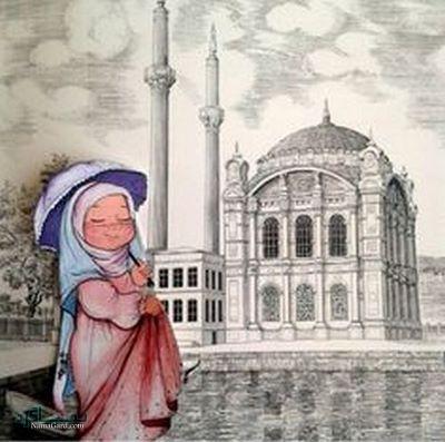عکس دختر چادری خاص