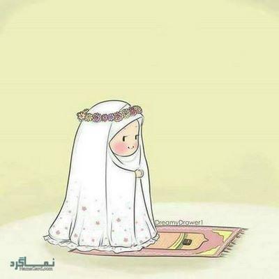 عکس دخترونه حجابی زیبا