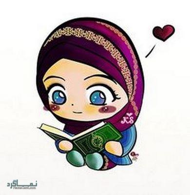 عکس دخترونه حجابی احساسی