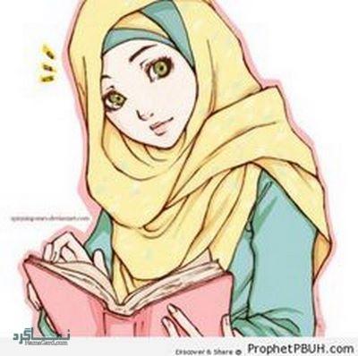 عکس دختر چادری