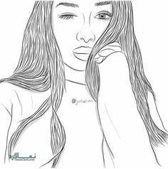 عکس پروفایل دخترونه نقاشی جدید