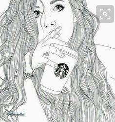 عکس پروفایل دخترونه نقاشی شده