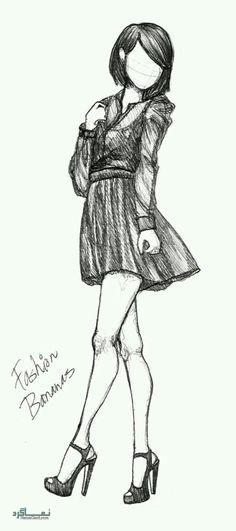 عکس پروفایل دخترونه نقاشی کارتونی
