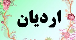 معنی اسم اردیان – معنی اسم اردیان – نام پسرانه زیبای فارسی
