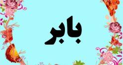 معنی اسم بابر – معنی بابر – نام پسرانه ترکی