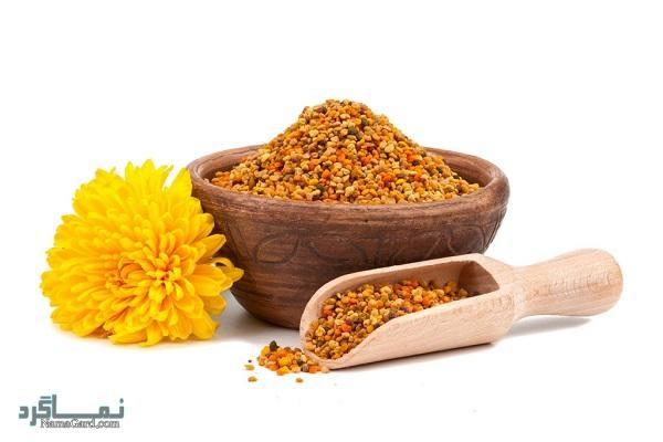 27 خاصیت درمانی گرده گل برای بدن   مضرات
