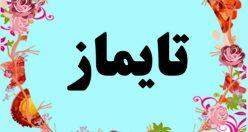 معنی اسم تایماز – معنی تایماز – نام پسرانه ترکی