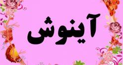 معنی اسم آینوش – نام آینوش – زیباترین اسم های دخترانه ترکی