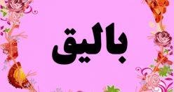 معنی اسم بالیق – نام بالیق – زیباترین اسم های دخترانه ترکی