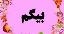 معنی اسم بیگم – نام بیگم – زیباترین اسم های دخترانه ترکی