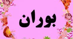 معنی اسم بوران – نام بوران – زیباترین اسم های دخترانه ترکی
